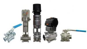 Manual Ball Valves - 300 (2-way) and 350 (3-way) Series