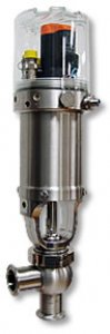 Aseptic Diaphragm Shut-Off, Divert and Tank Outlet Single Seat Valves - W90 Series